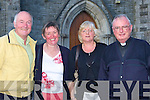 Donal, Marie Nelligan, Helen Lyons and Fr Pat Sugrue at the retirement mass of Canon Denis O'Mahony in St Stephens and Johns church Castleisland on Friday evening   Copyright Kerry's Eye 2008