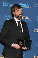 LOS ANGELES - FEB 2:  Chris Riddle at the 2019 Directors Guild of America Awards at the Dolby Ballroom on February 2, 2019 in Los Angeles, CA