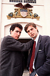 OMD 1981 Orchestral Manoeuvres Andy McCluskey and Paul Humphreys on Alcatraz