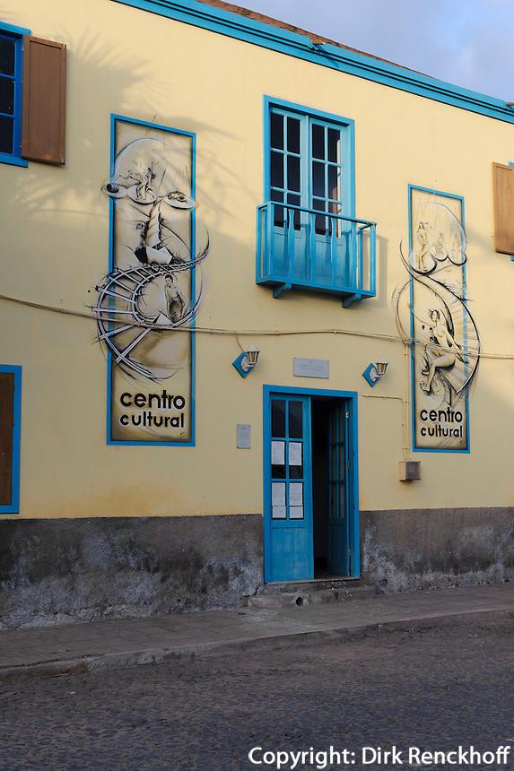 Kulturzentrum in Santa Maria, Sal, Kapverden, Afrika