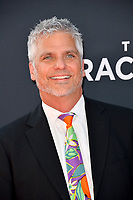 "LOS ANGELES, USA. August 02, 2019: Garth Stein at the premiere of ""The Art of Racing in the Rain"" at the El Capitan Theatre.<br /> Picture: Paul Smith/Featureflash"