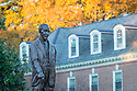 Personal Fall photos on Duke's East Campus featuring the Sower, Pavilion, Baldwin<br /> <br /> Photo by Bill Snead/Duke Photography #dukephotoaday, #dukefacilities