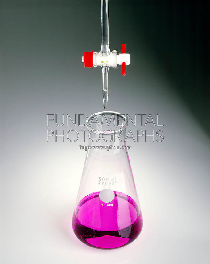 TITRATION OF A BASE WITH AN ACID<br />