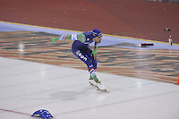 SPEED SKATING: SALT LAKE CITY: 21-11-2015, Utah Olympic Oval, ISU World Cup, 1000m Men, Kjeld Nuis (NED), ©foto Martin de Jong