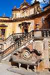 Garden of Baroque Villa Palagonia, Baghera Sicily Pictures, photos, images & fotos