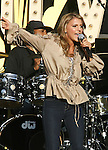 LOS ANGELES, CA. - April 28: Singer Jordan Pruitt  performs during the World Wish Day Celebration With Miley Cyrus at The Grove on April 28, 2010 in Los Angeles, California.
