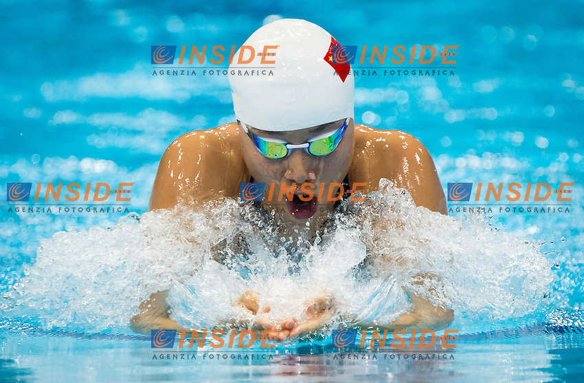 JI Liping China.200m Breaststroke Women.Olympic pool.swimming heats.London 2012 Olympics - Olimpiadi Londra 2012.day 06 August 1.Photo G.Scala/Deepbluemedia.eu/Insidefoto