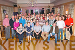 Danny Kerrisk, Currans, Farranfore (seated centre) had a cracking time celebrating his 50th birthday last Saturday night in Ballingarry house hotel, Tralee along with many friends and family.
