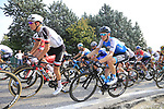The peloton including Ben Hermans (BEL) Israel Cycling Academy climb Colle Brianza during the 112th edition of Il Lombardia 2018, the final monument of the season running 241km from Bergamo to Como, Lombardy, Italy. 13th October 2018.<br /> Picture: Eoin Clarke | Cyclefile<br /> <br /> <br /> All photos usage must carry mandatory copyright credit (© Cyclefile | Eoin Clarke)