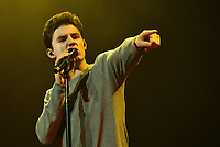 """SAN FRANCISCO, CALIFORNIA - NOVEMBER 8: Ryland James performs during the """"The Pains of Growing Tour"""" at The SF Masonic Auditorium on November 8, 2019 in San Francisco, California. Photo: imageSPACE/MediaPunch"""