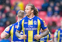 Picture by Allan McKenzie/SWpix.com - 04/03/2017 - Rugby League - Betfred Super League - Salford Red Devils v Warrington Wolves - AJ Bell Stadium, Salford, England - Ashton Sims.
