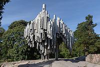 Sibelius-Denkmal in Helsinki, Finnland