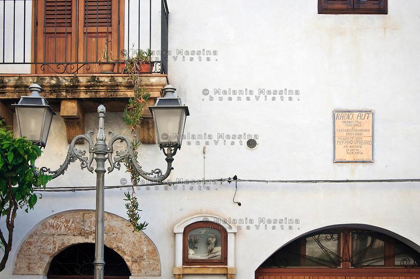 l'antica sede di radio aut quando trasmetteva Peppino Impastato. <br /> The place where once was radio aut in Terrasini.