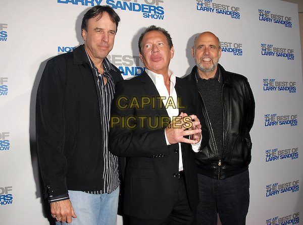 "KEVIN NEALON, GARRY SHANDLING & JEFFREY TAMBOUR.attends The Larry Sanders Show Wrap Party and DVD Launch Party for ""Not Just the Best of Larry Sanders Show DVD"" held at The Regent Beverly Wilshire in Beverly Hills, California, USA,  April 10th 2007..half length.CAP/DVS.©Debbie VanStory/Capital Pictures"