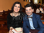 Enda McEnteggart who was confirmed in the Church of the Immaculate Conception Termonfeckin pictured with sponsor and sister Edel McEnteggart. Photo:Colin Bell/pressphotos.ie