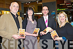 HEIRS TO THE KINGDOM: Author Owen O'Shea with his family at the launch of his new book Heirs to the Kingdom at O'Mahony's book shop, Tralee on Friday l-r: Owen, Aisling, Owen and Celia O'Shea.