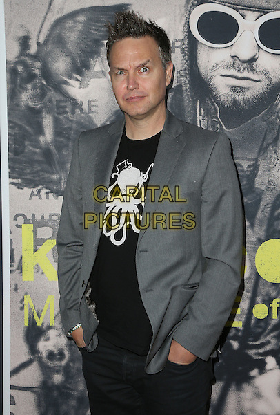 21 April 2015 - Hollywood, California - Mark Hoppus. HBO &quot;Kurt Cobain: Montage Of Heck&quot; Los Angeles Premiere held at The Egyptian Theatre. <br /> CAP/ADM/FS<br /> &copy;FS/ADM/Capital Pictures