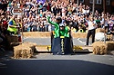 08/09/19<br /> <br /> Competitors charge over a jump in  the middle of Ashbourne town centre at the Derbyshire's town inaugural Soap Box Race which saw 60 carts decent the hill<br /> <br /> All Rights Reserved: F Stop Press Ltd.  <br /> +44 (0)7765 242650 www.fstoppress.com