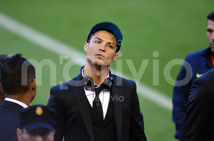 FUSSBALL  INTERNATIONAL Copa del Rey FINALE  2013/2014    FC Barcelona - Real Madrid            16.04.2014 Cristiano Ronaldo (Real Madrid)