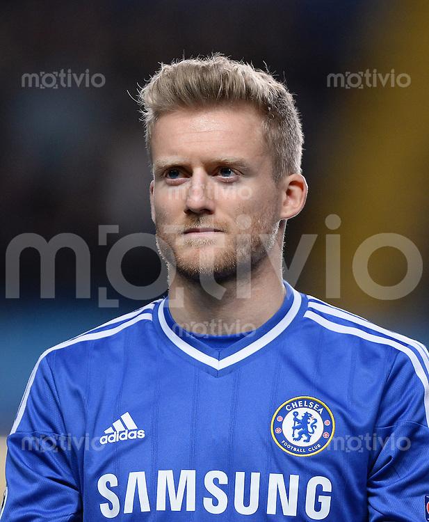 FUSSBALL   CHAMPIONS LEAGUE   SAISON 2013/2014   Vorrunde  in London FC Chelsea - FC Schalke     06.11.2013 Andre Schuerrle (FC Chelsea)