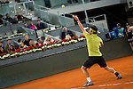 Japanese Kei Nishikori during ATP Semi-Finals Mutua Madrid Open Tennis 2016 in Madrid, May 07, 2016. (ALTERPHOTOS/BorjaB.Hojas)