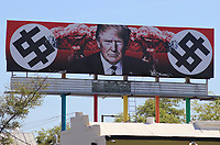 Donald Trump billboard sign in Phoenix, Arizona