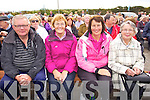 Fr Danny Broderick, Joan O'Brien, Maria Stack and Bridie Burke pictured at Ballyheigue Pattern day on Sunday.