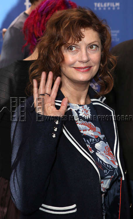 Susan Sarandon attending the The 2012 Toronto International Film Festival.Photo Call for 'Cloud Atlas' at the TIFF Bell Lightbox in Toronto on 9/9/2012