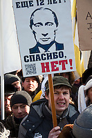 Moscow Anti-Putin Protest