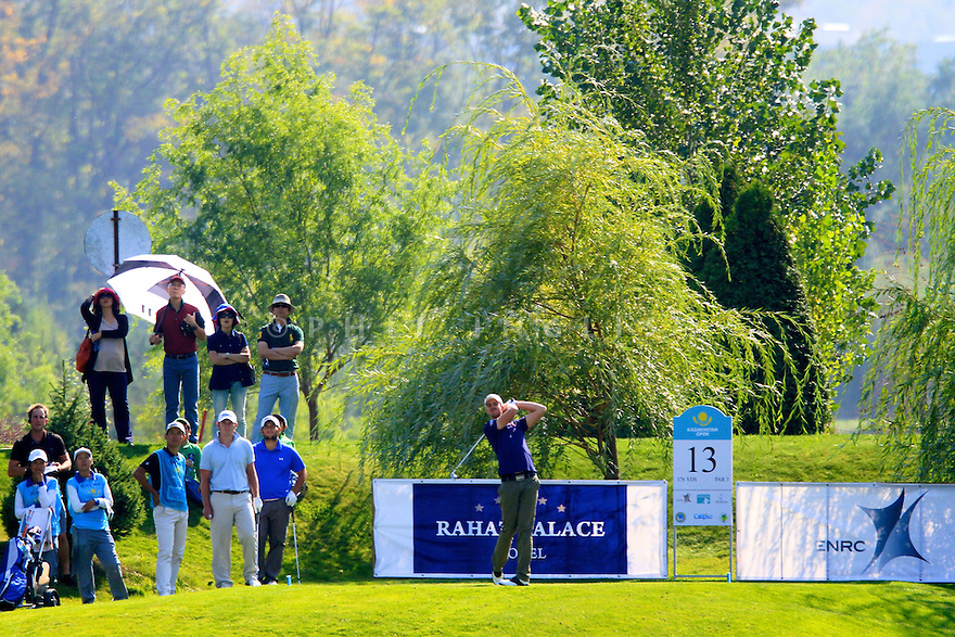Andreas Harto (DEN) during the final round of the Kazakhstan Open played at Zhailjau Golf Resort, Almaty on September 16, 2012 in Almaty, Kazakhstan.(Picture Credit / Phil Inglis)
