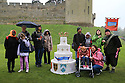 08/05/14<br /> <br /> ***FREE PHOTO FOR EDITORIAL USE***<br /> <br /> School children from RNIB Three Spires Academy, in Coventry, visit Warwick Castle to enjoy a day out to celebrate the castle's 1100th birthday. This is part of a wider event in which 10,000 children around the World are taking part to mark the opening of Merlin's 100th attraction, thanks to funding by the charity Merlin's Magic Wand.<br /> <br /> All Rights Reserved - F Stop Press.  www.fstoppress.com. Tel: +44 (0)1335 300098