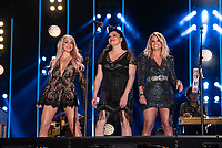 NASHVILLE, TENNESSEE - JUNE 08: Ashley Monroe, Angaleena Presley and Miranda Lambert of Pistol Annies perform onstage during day 3 of the 2019 CMA Music Festival on June 8, 2019 in Nashville, Tennessee. <br /> CAP/MPI/IS/AW<br /> ©MPIIS/AW/Capital Pictures