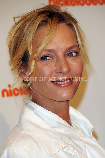 WWW.ACEPIXS.COM . . . . . ....August 10 2010, New York City....Uma Thurman at Nickelodeon's 'Beyond the Backpack' and auction of Celebrity Backpacks at Macy's Herald Square store on August 10, 2010 in New York City.....Please byline: KRISTIN CALLAHAN - ACEPIXS.COM.. . . . . . ..Ace Pictures, Inc:  ..(212) 243-8787 or (646) 679 0430..e-mail: picturedesk@acepixs.com..web: http://www.acepixs.com