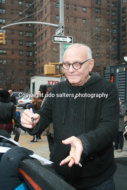 Max Azria Signs auotgraphs During Mercedes-Benz Fashion Week, NY 2/11/12