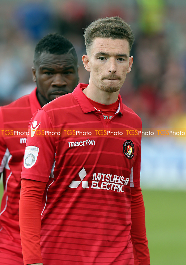 Jack Connors of Ebbsfleet United during Ebbsfleet United vs Chelmsford City, Vanarama National League South Play-Off Final Football at The PHB Stadium on 13th May 2017