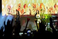 S&Atilde;O PAULO 19.06.2016 - SHOWS-SP -A dupla Simone e Simaria fez show na Portuguesa, na festa junina da Band FM na zona norte de S&atilde;o Paulo na noite de ontem domingo, 19. (Foto<br /> Eduardo Martins/ Brazil Photo Press)