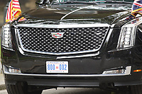 LONDON, ENGLAND - JUNE 04: Donald Trump's Cadillac Limousine 'Beast' outside in 10 Downing Street, during the second day of Trump State Visit on June 4, 2019 in London, England. <br /> CAP/GOL<br /> ©GOL/Capital Pictures