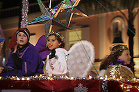 Naples Christmas Parade steps off along Third Street South, Naples, Florida, USA, Dec. 7, 2010. Photo by Debi Pittman Wilkey