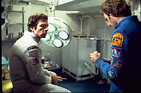 Silent Running (1972) <br /> Bruce Dern &amp; Mark Persons<br /> *Filmstill - Editorial Use Only*<br /> CAP/KFS<br /> Image supplied by Capital Pictures