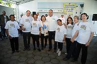 SAO PAULO, SP, 20 DE ABRIL DE 2013. CAMPANHA DE VACINACAO CONTRA A GRIPE 2013.O ministro da saude, Alexandre Padilha, durante o lançamento da campanha de vacinação contra a gripe 2013 na manhã deste sábado no Instituto Butantan na zona oeste da capital paulista  FOTO ADRIANA SPACA/BRAZIL PHOTO PRESS