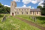 Village parish church of Saint Mary, Barking, Suffolk, England, UK
