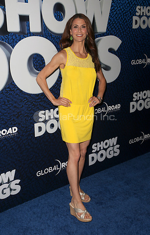 HOLLYWOOD, CA - MAY 5: Samantha Harris, at the Show Dogs film premiere at the TCL Chinese Theatre in Hollywood, California on May 5, 2018. Credit: Faye Sadou/MediaPunch