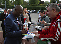 Pictured: Claude Makelele Wednesday 18 May 2017<br /> Re: Swansea City FC, Player of the Year Awards at the Liberty Stadium, Wales, UK.
