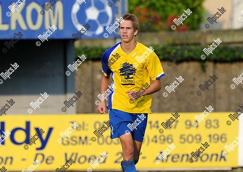 2013-09-14 / Voetbal / seizoen 2013-2014 / Verbroedering Arendonk / Tom Michiels<br /><br />Foto: Mpics.be