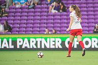 Orlando, FL - Saturday July 01, 2017: Katie Naughton during a regular season National Women's Soccer League (NWSL) match between the Orlando Pride and the Chicago Red Stars at Orlando City Stadium.