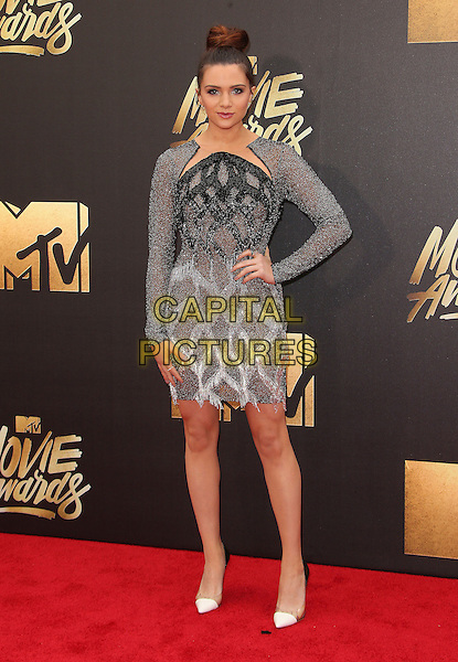 09 April 2016 - Burbank, California - Katie Stevens. 2016 MTV Movie Awards held at Warner Bros. Studios. <br /> CAP/ADM/SAM<br /> &copy;SAM/ADM/Capital Pictures