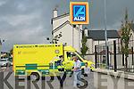 Fire at Aldi Supermarket in Tralee