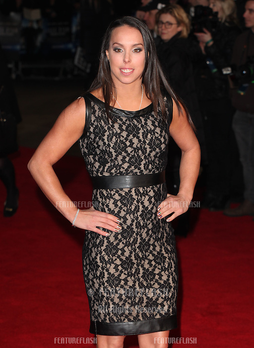 Beth Tweddle arriving for the UK Premiere of Jack Ryan, at Vue Leicester Square, London. 20/01/2014 Picture by: Alexandra Glen / Featureflash