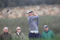 Jason Scrivener (AUS) on the 11th tee during Round 2 of the Open de Espana 2018 at Centro Nacional de Golf on Friday 13th April 2018.<br /> Picture:  Thos Caffrey / www.golffile.ie<br /> <br /> All photo usage must carry mandatory copyright credit (&copy; Golffile | Thos Caffrey)
