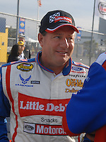 Feb 11, 2007; Daytona, FL, USA; Nascar Nextel Cup driver Ken Schrader (21) during qualifying for the Daytona 500 at Daytona International Speedway. Mandatory Credit: Mark J. Rebilas.